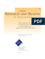 Using.Research.And.Reason.In.Education-NIFL