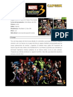 Marvel vs Capcom 3, informacion Completa