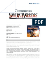 Samurai Warriors, informacion