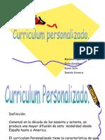 Curriculum Personalizado