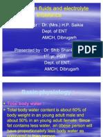 Seminar on Fluids and Electrolyte Imbalance
