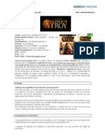Warriors Legends of Troy, informacion