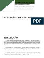 Articulação línguaPortuguesa2e3Ciclos
