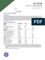 Lexan Polycarbonate 9030 Technical Properties Data Sheet