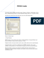 PDMS Command for New User
