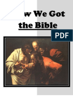 How We Got the Bible Workbook 8.5x11