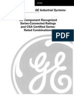 GE Series Rating