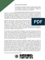 Justicia para la Batería Alta de San Martín 13-7-2011