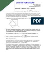 colegio_pentagono_lista_de_treinamento_2_omerj_2007_nivel_3