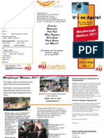 Maryborough Madness Brochure 2011
