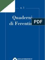 QuaderniFerentino n. 1