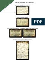 Les Cartes Oubliees de La Version 1.0