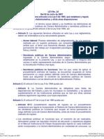 Ley 24 Del 2 de Julio de 2007 Acoso Laboral