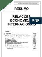 Relações Econômicas Internacionais