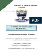 Plan de Seguridad Informática de DISGAMA(PSI)