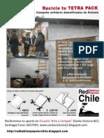 prototipo afiche reciclaje