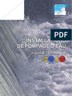 Installations Pompage Eau Guide Technique 2010 Snecorep