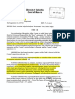 In Re Wilfredo Pesante Suspension Order 27 Apr 2011
