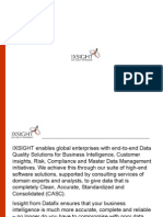 Master Data Management, Profiling, Migration & Address Cleansing Services, Business Analytics & Intelligence Solution India