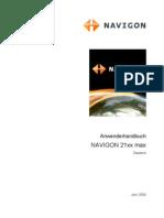 Manual Navigon 21xxmax (german)