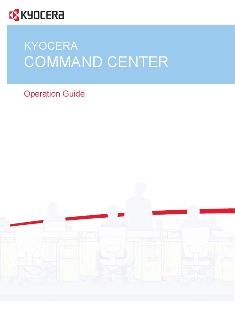 Command Center Km-2810 | Ip Address | I Pv6