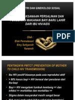 Penatalaksanaan Persalinan Dan Pemberian Makanan Bayi BarU Lahir