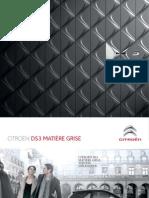 Catalogue DS3 Matiere Grise
