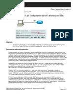 5.2.5 Configuracion de NAT Dinamica Con SDM