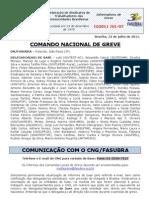Informe do Comando Nacional de Greve (12.jul.2011)
