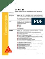 Aditivo Reductor Sikapaverplus40 09