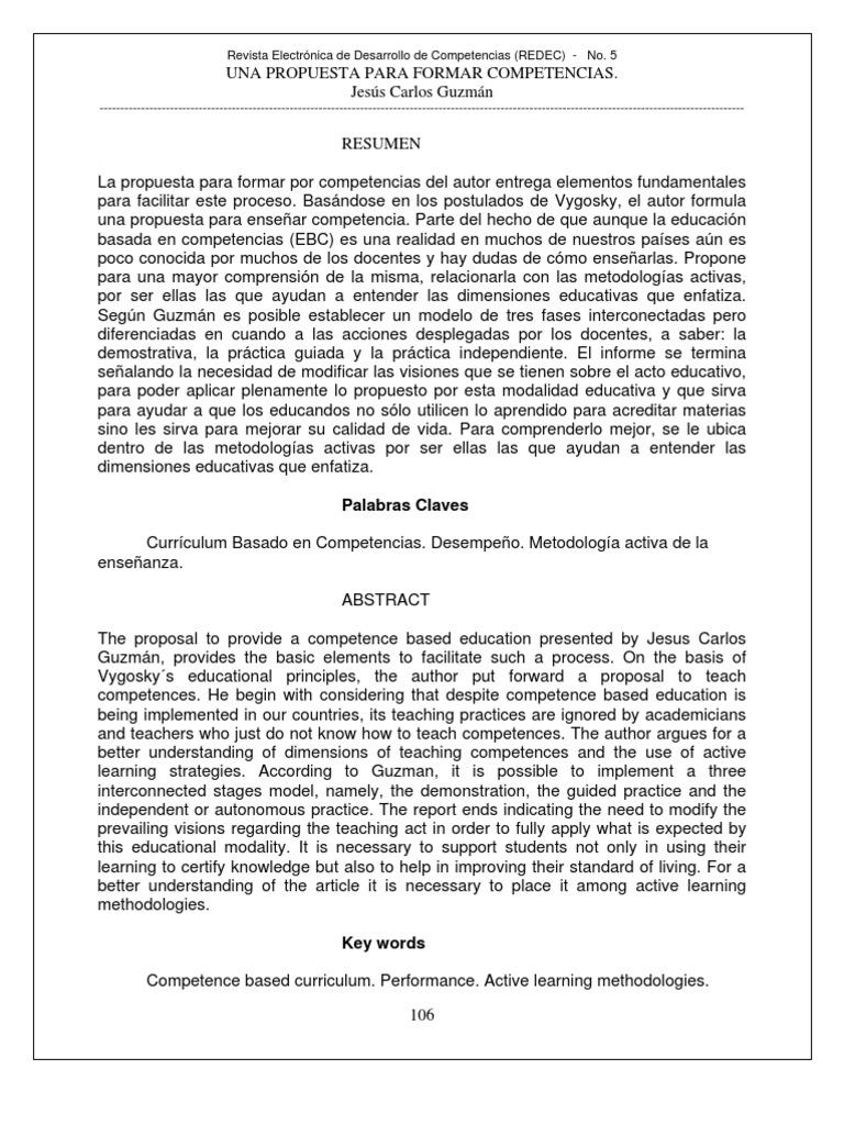 Articulo Jesus Carlos Guzman Competencias