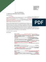 Denuncia Penal de Fraude Instituciones Bancarias