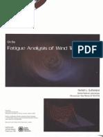 Sutherland_Fatigue Analysis of Wind Turbines_1999