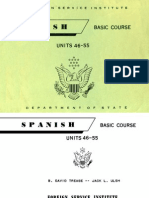 FSI Basic Spanish Volume 4