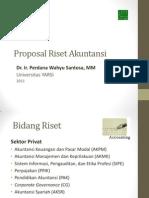 Proposal Riset Akuntansi 2011