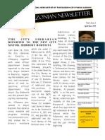 Quezonian Newsletter June 2010