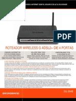 Especificações - DSL-2640B
