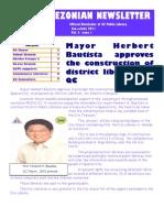 Quezonian Newsletter June 2011