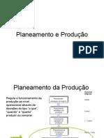 Planeamento e Produção