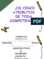 5 Atributos de Las Competencias