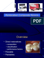Restorative Composite Resins