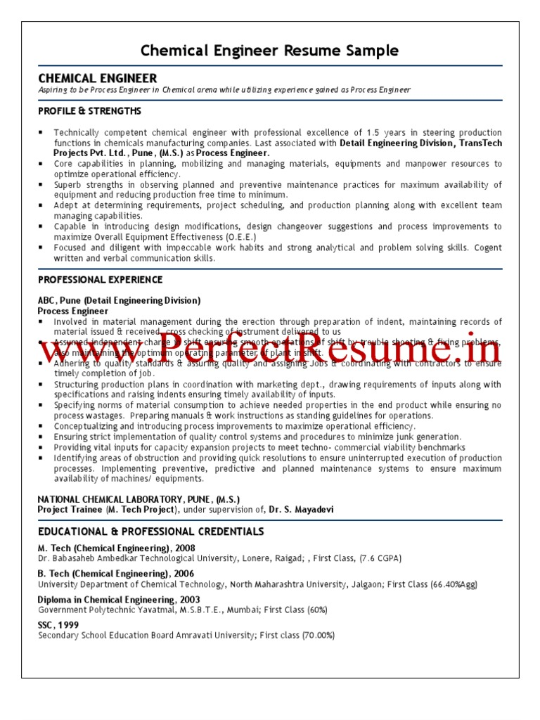 Application Letter Chemical Engineer] resume cover letter picture ...