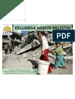 Poster Keluarga Miskin Palestin