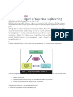 The Six Principles of Systems Engineering (Articulo de IBM)