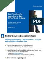 53630456 Data ONTAP 801 Upgrade Best Practices Webinar Handout v1 0[1]