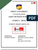Bharti Airtel Alliances