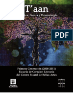 T'aan, antología narrativa, poesía y dramaturgia en maya y español