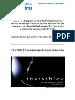 Dossier Invisibles Esp