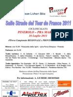 Volantino PINEROLO-Pra Martino 2011 New