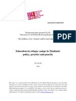 Education in Refugee Camps in Thailand-Su-Ann Oh